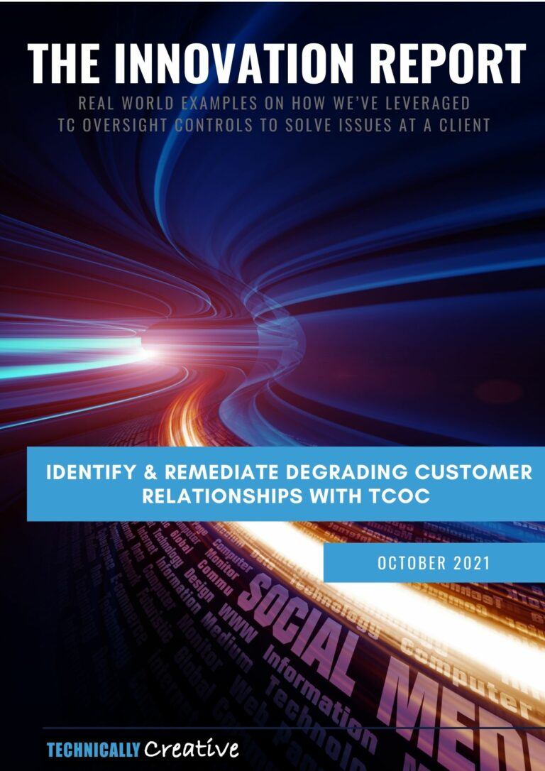 Cover of October Innovation Report